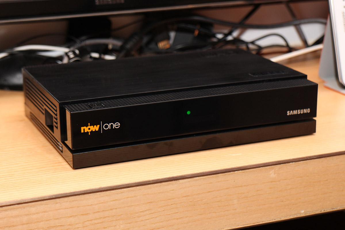 Now One方方正正,比現在用開的NOW TV機頂盒靚仔得多。