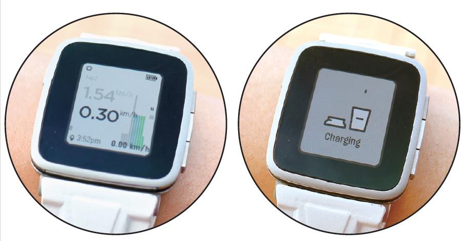 GSP 模組的技術挑戰在於收藏天線和晶片,表現可媲美運動手錶。同時內置 250mAh 電池, 跟 Pebble Time 相若,可額外供電 7 日。