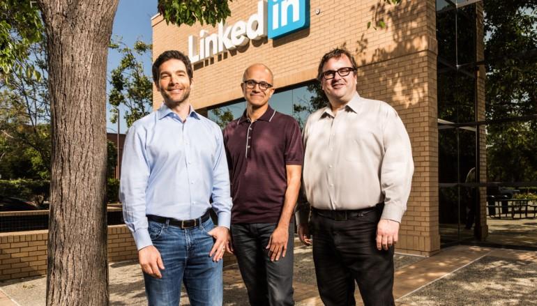 微軟 262 億美元現金收購 LinkedIn