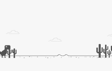Chrome 「斷線」恐龍獨立出 Game 免費下載