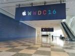 Apple WWDC在三藩市的Moscone West會場舉行,外牆已見大大個Apple Logo。