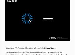 【唔使估估下】Samsung 官方承認 Note 7 名稱
