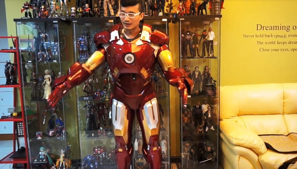 有錢就是任性 Iron Man 1:1 穿著式裝甲開箱