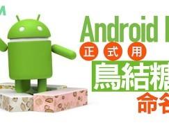 【N for 乜乜乜】Android N 正式用 Nougat(鳥結糖)命名!