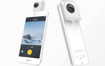 【iPhone 專用】Insta360 Nano 360 鏡頭 即插即影