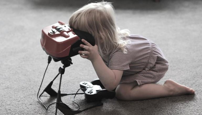 任天堂看 VR 裝置 : 要考慮兒童安全