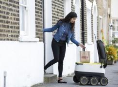 Brexit 前最後合作 英國用機械人送外賣