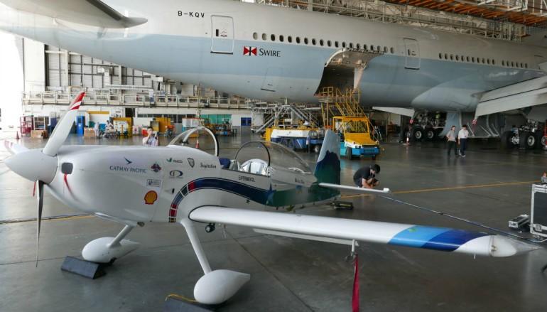 【夢想成真】B-KOO 「香港起飛」小型飛機 香港科學館見