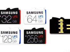 Samsung 發表超快 UFS 卡 讀速快 micro SD 五倍