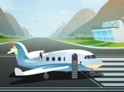 預習乘坐飛機