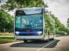Benz 開發無人駕駛巴士