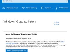 Windows 10 一周年更新始動,未收到通知?有辦法