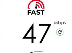 一網速測 4K 播片流暢度