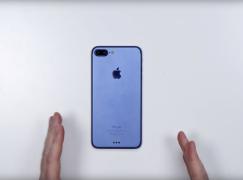【高清片流出】藍色版 iPhone 7 Plus 實機原來係廣告?