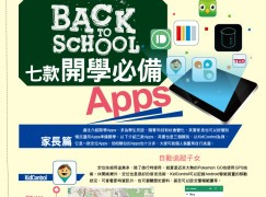 【#1204 PCM】Back to School 七款開學必備 Apps