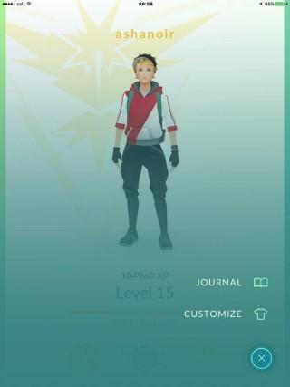 可以為精靈訓練員更換衣飾的顏色了。