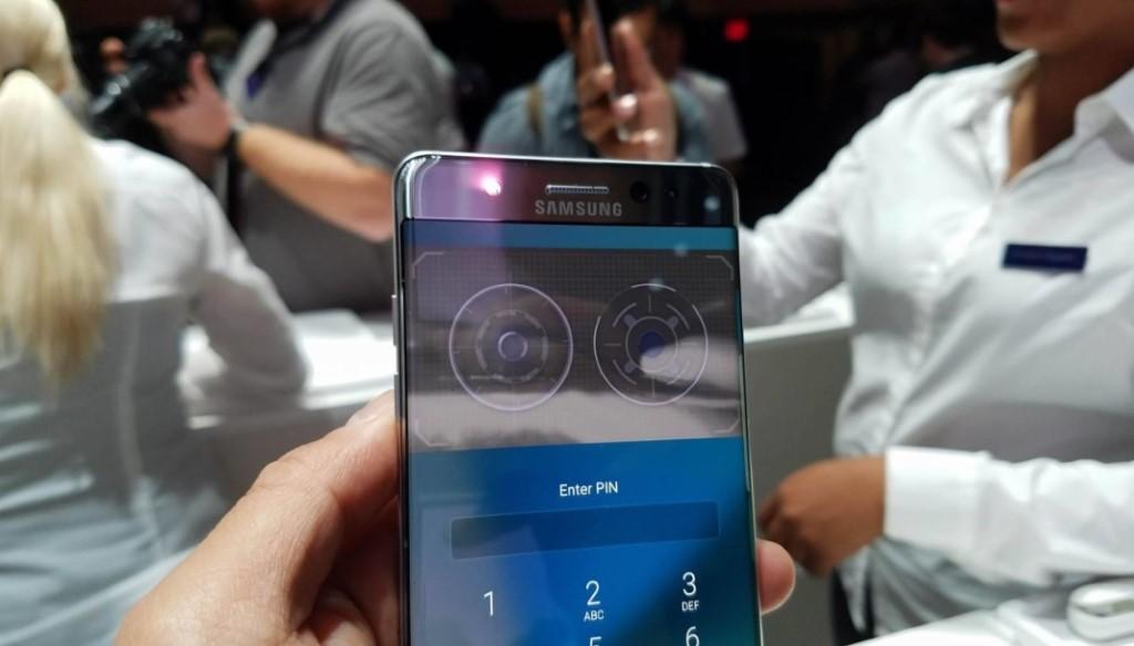 【一碌眼開機】Samsung Note 7 玩防水機身兼瞳孔解鎖
