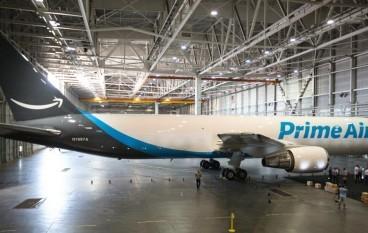 亞馬遜公布首款專用貨機