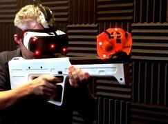 最實感的VR槍戰 Haptic VR Gun控制器