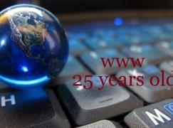 全球資訊網(www)25歲生日!