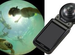 Casio 分體相機搞進化 連接雙鏡玩 360°