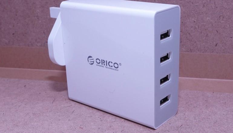 高效安全充電之選 ORICO 4位 USB 充電器