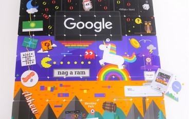 Google 18周年 經典遊戲玩唔停
