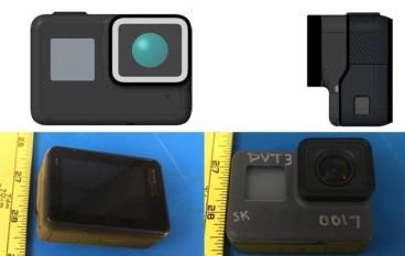 疑似 GoPro HERO 5 防水又有觸控螢幕?
