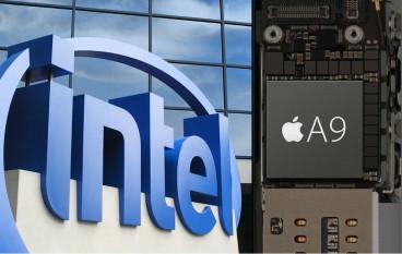 傳 Intel 將在 2018 年代工 iPhone 處理器