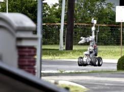 警察用機械人擊殺匪徒惹爭議