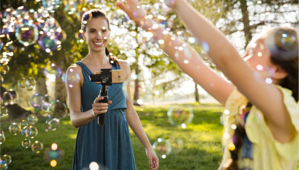 DJI Osmo 手機雲台設追蹤拍攝功能