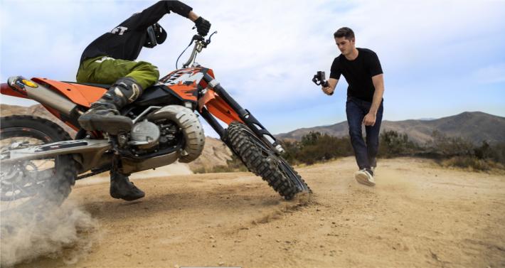 ActiveTrack功能對於有特定拍攝對象特別有用。