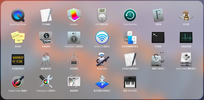 首先用戶要先開啟「Launhpad」>「Other」>「終端機(Terminal)」。