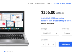 最後24小時! 限制時間搶購 HacBook Elite
