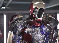 1:1 Ironman MK43 電動裝甲現身廣州