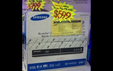 【場報】Samsung Blu-ray 機 六舊有找