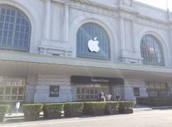 iPhone 7 發布會場地日前視察