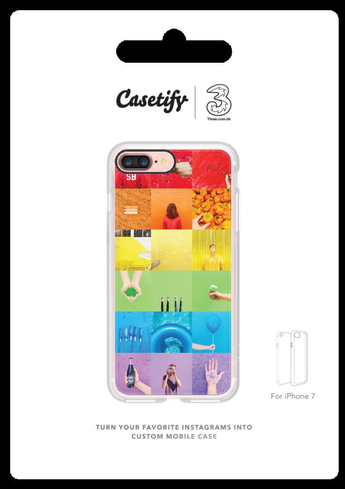 可選購以自己心水相片組合的Casetify手機殼。