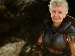 最年長的遊戲直播達人 Shirley Curry