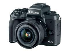 Canon EOS M5 雙像素 CMOS 無反登場