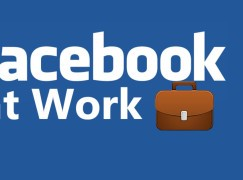 Facebook at Work 進軍商業平台