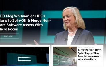 HPE繼續瘦身  拆售非核心軟件又合組公司
