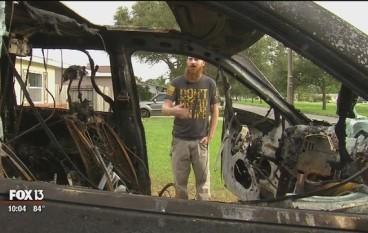 美 Note 7 房車內爆炸全車焚毀