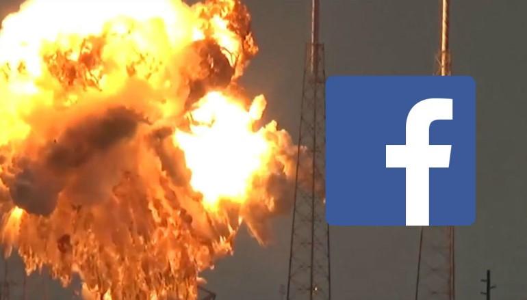Facebook 衛星被炸爛 朱克伯格勁嬲