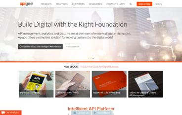 API管理當道 Google 收購 Apigee