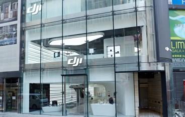 樓高三層 DJI 銅鑼灣旗艦店開幕