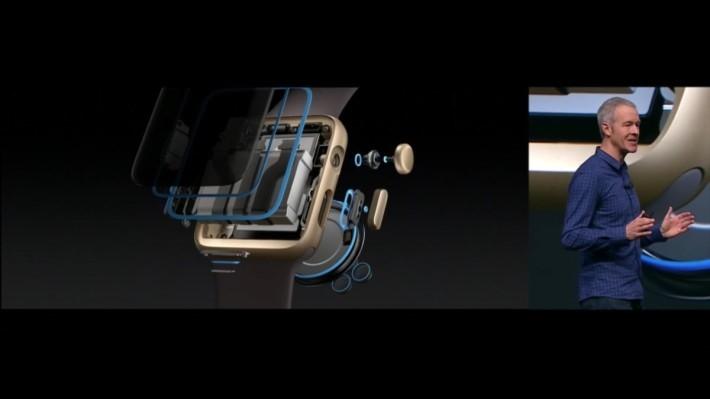 加入多個水密設計,令 Apple Watch series 2 具備 50 米防水規格。
