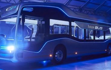 Benz 半自動化 Future Bus 荷蘭試行成功