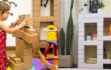【好環保】紙版 Lego 砌出無限創意