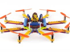【唔怕撞散】自砌 LEGO 無人機無難度